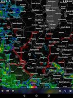 Screenshot of MyRadar Weather Radar Ad Free