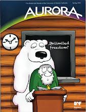 Photo: Aurora Magazine cover (Spring 2011)