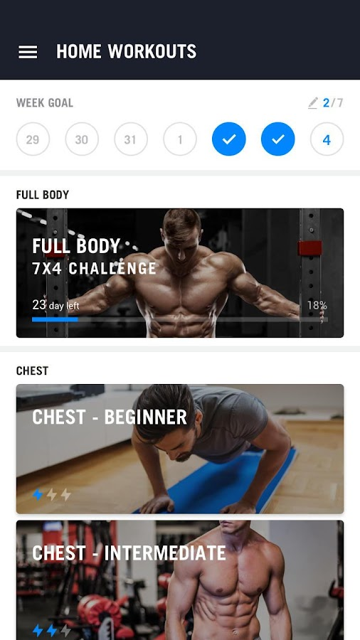 Home Workout - No Equipment- screenshot