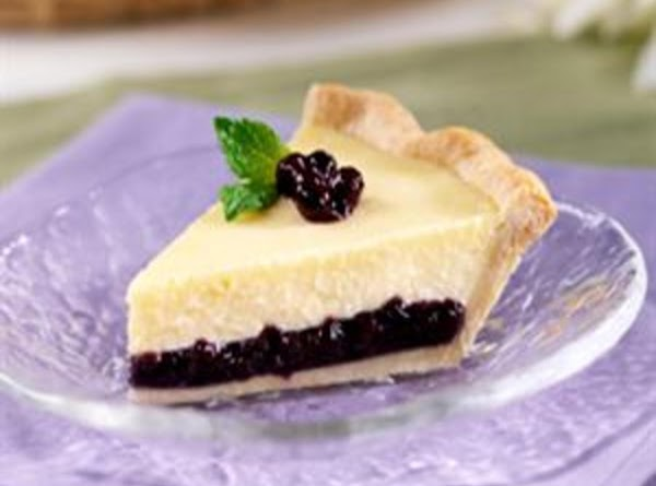 Creamy Blueberry Cheesecake Pie  Or Bars Recipe