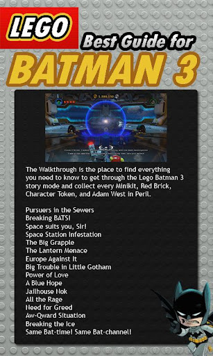 Best Guide for Lego Batman 3