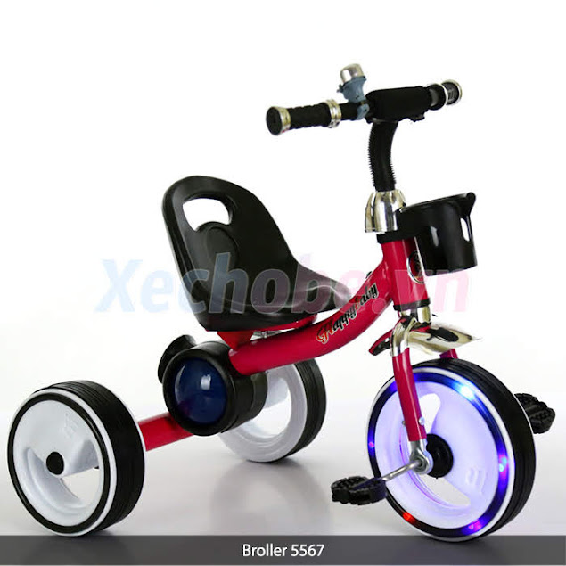 xe đạp cho bé 5567 thương hiệu broller