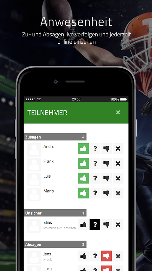 SpielerPlus - Team Manager- screenshot