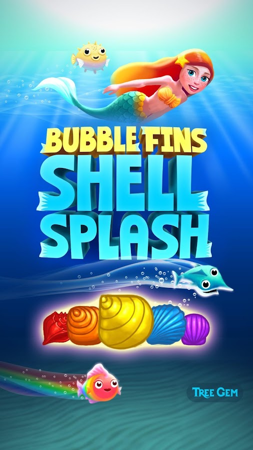 Bubble Fins - Shell Splash- screenshot