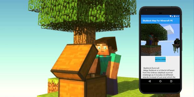 Skyblock map for Minecraft PE. Maps for MCPE - Aplikacije na Google ...