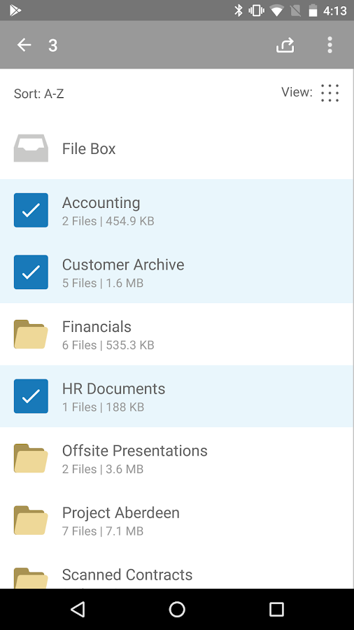 Citrix ShareFile- screenshot