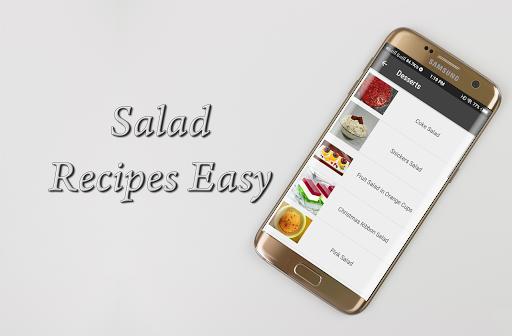 Salad Recipes Easy 1.0 screenshots 2