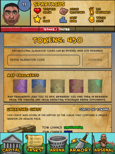 Gladiator: Rise Of Legends 2.13 screenshots 8