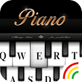 Black&White Piano Keyboard Theme
