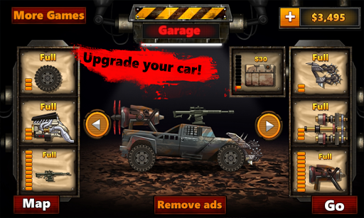 Monstro Car Hill Racer 2
