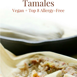 Gluten-Free Pinto Bean Tamales (Vegan, Allergy-Free).