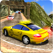 Drive Real Car Taxi Games 2018: Taxi Driving Games