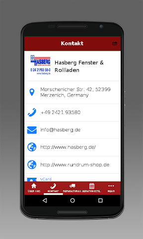 android Hasberg Fenster Screenshot 3