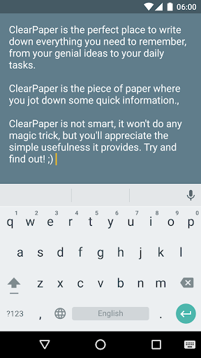 ClearPaper: write your ideas  screenshots 1