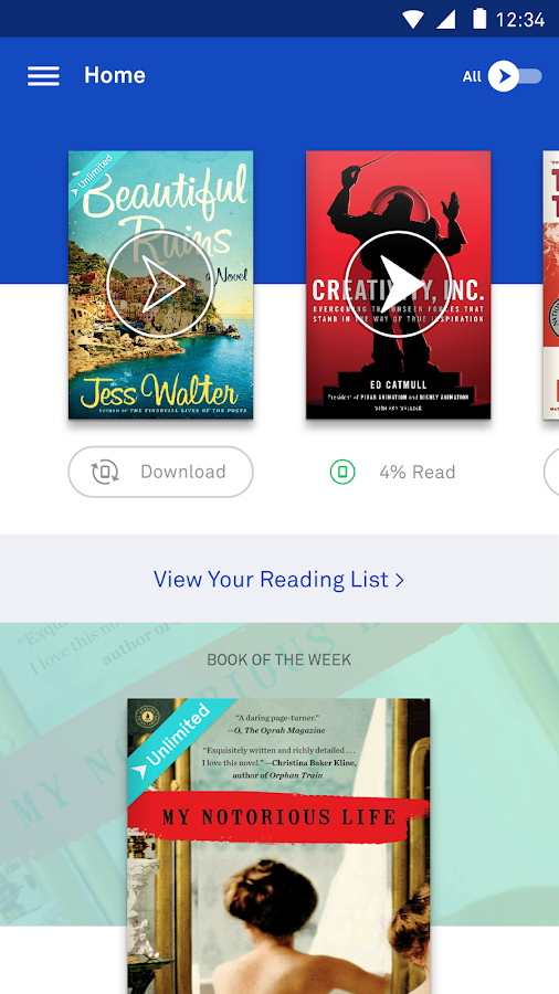 Oyster – The Best Way to Read - screenshot