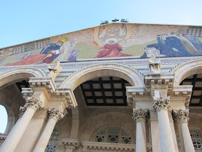 Photo: Church of All Nations mosaic frieze
