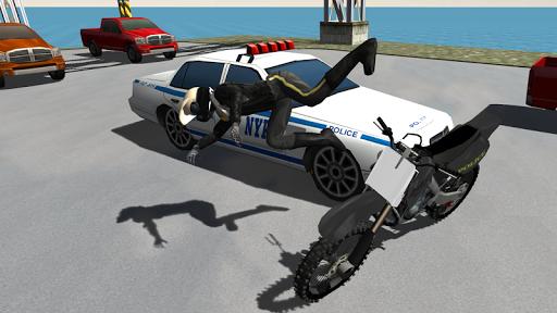 Police Motorbike Driving Simulator apktram screenshots 2
