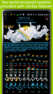eWeather HD with Future Radar 7.1.0 APK 3