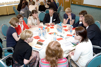 Photo: World Cafe workshop at the 2012 Equinet Legal Training