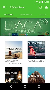 DACA Scholars- screenshot thumbnail