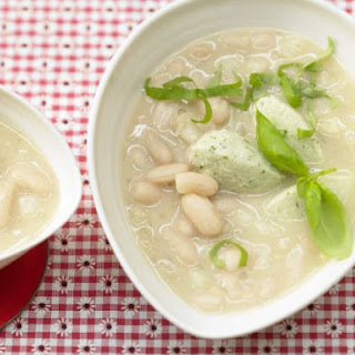 Bean Soup with Dumplings