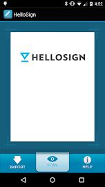 HelloSign Screenshot 1