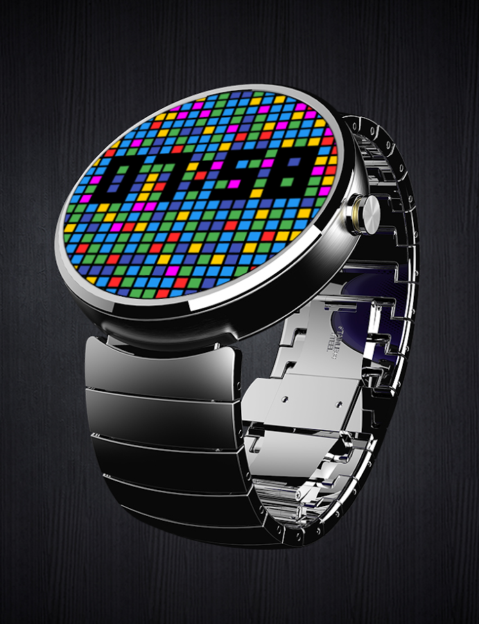 Falling Mosaic - Watch Face- screenshot
