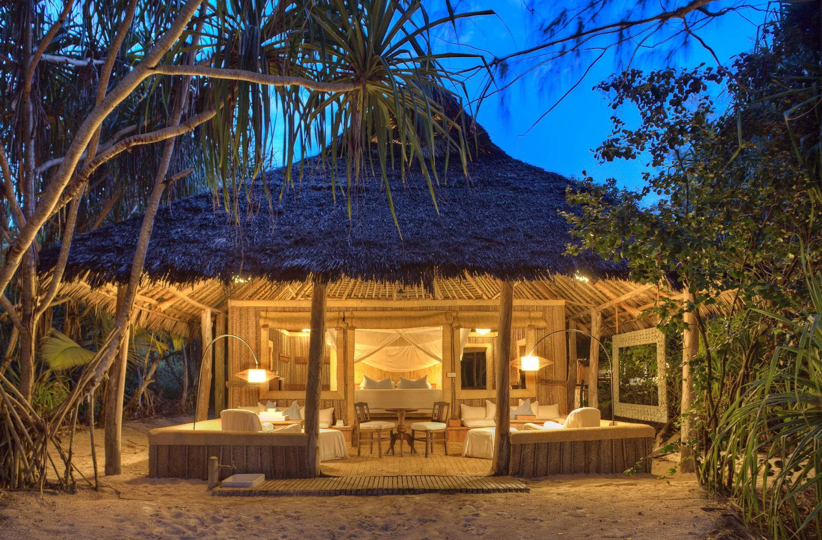 Tropical honeymoon romance in Pemba, Zanzibar