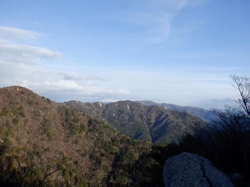 岩ヶ峰からの眺め