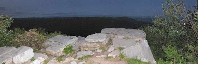 Photo: FM19AW panorama - rock outcropping looking N