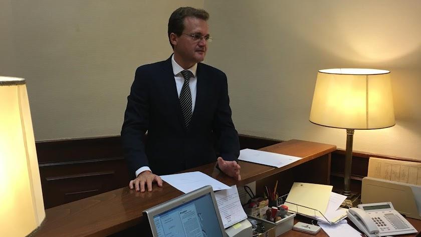 Diego clemente, en el Congreso de los Diputados.