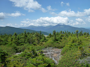 Photo: The Presidentials from Mount Moriah