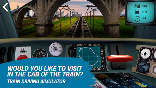 Train driving simulator  screenshots 4