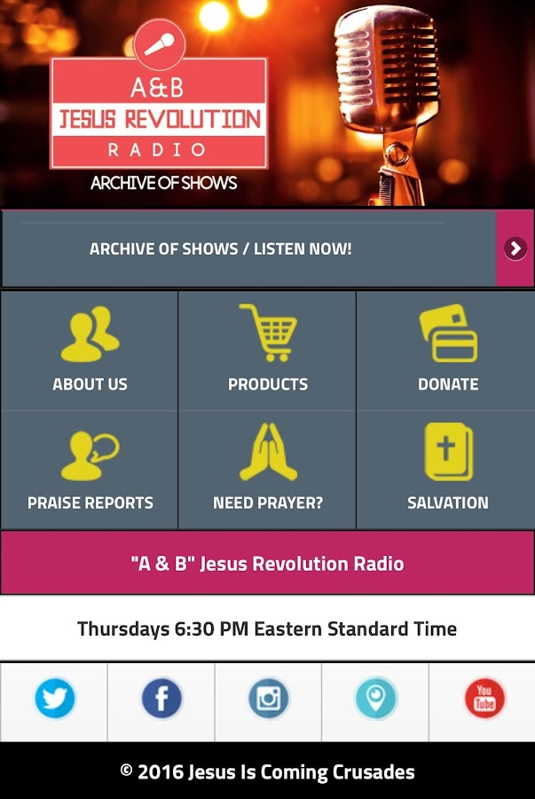 A & B Jesus Revolution Radio- screenshot