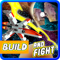 Build and Fight space shooter game