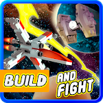 Build and Fight space shooter game Icon