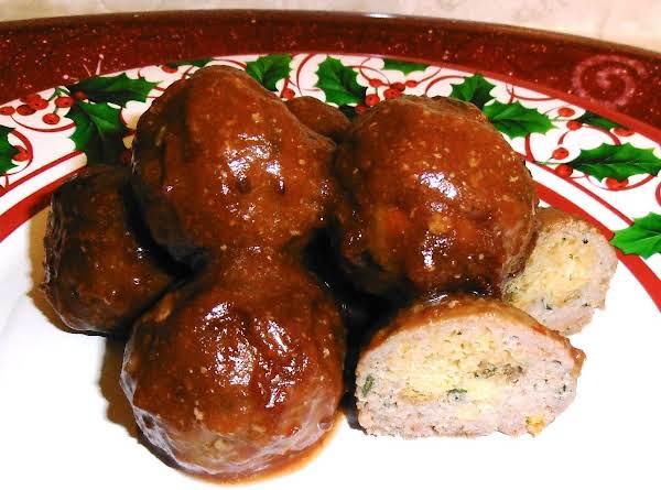 Holiday Dinner Turkey Balls