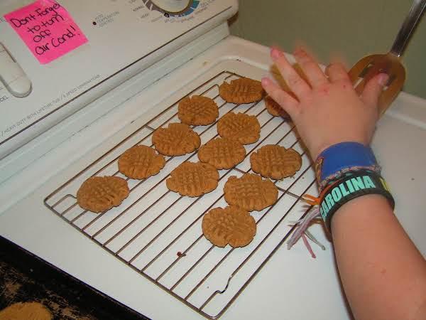 1 2 3 Peanut Butter Cookies