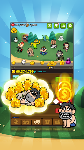 The Rich King - Amazing Clicker screenshots 1