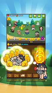 The rich king - Gold Clicker Screenshot