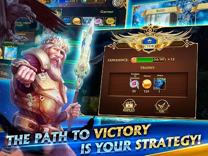 Heroes of Midgard: Thor's Arena - Card Battle Game- screenshot thumbnail
