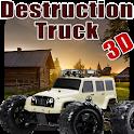 Destruction Truck 3D icon