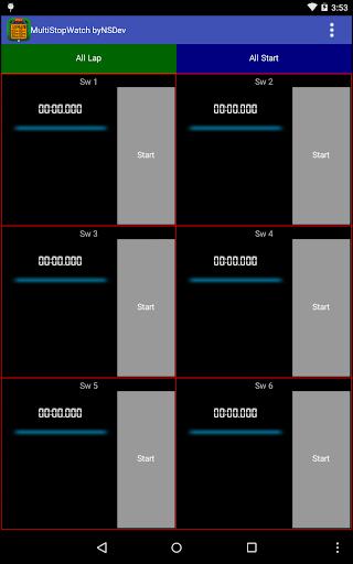 MultiStopWatch byNSDev 1.0.2 Windows u7528 10