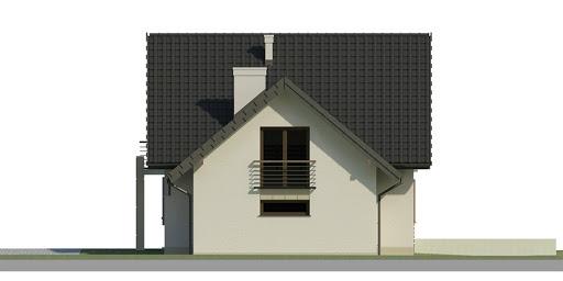Dom przy Cyprysowej 31 - Elewacja prawa
