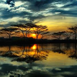 :: Matahari Menyapa pagi___Hi :: by Sandi Kun - Landscapes Sunsets & Sunrises ( dramatic landscapes, , noordhoek, south africa, noordhoekchallenge )