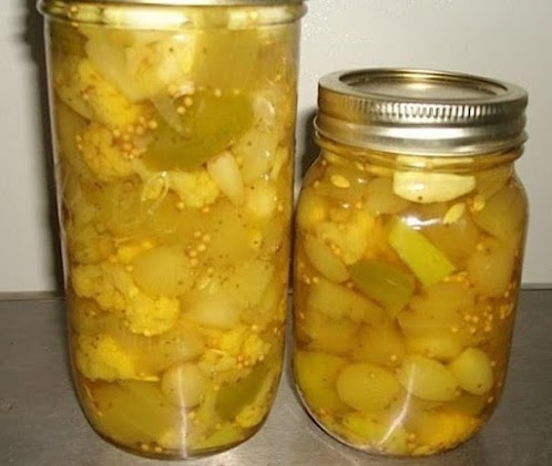 Click Here for Recipe: Mum's Sweet Mixed Pickles