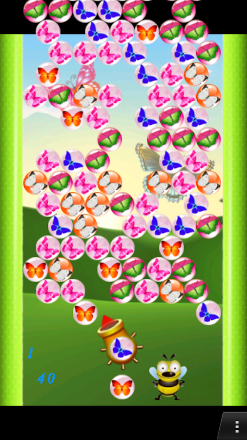 butterfly shooter game