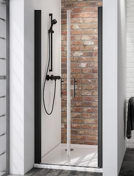 Portes de douche battantes en niche