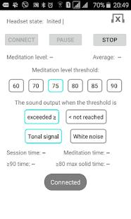 EEG Meditation - náhled
