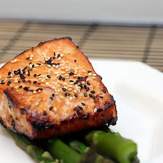 Miso Ginger Salmon